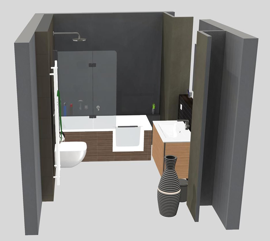 eigene 3d bad planung bernd floss installateur und. Black Bedroom Furniture Sets. Home Design Ideas